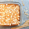 Almond Flour Apple Cake Slice