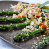 Warm Quinoa Salad with Asparagus