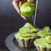 Raw Mini Lime Cheesecakes