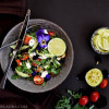 Keto Creamy Feta Salad with Avocado Sauce