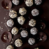 White and Milk Chocolate Energy Bite Truffles