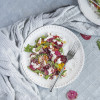 Beetroot Carpaccio with Goat's Cheese