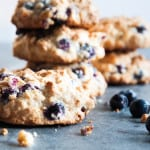 Cashew Blueberry Cookies