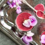 Raspberry and Blueberry Smoothie