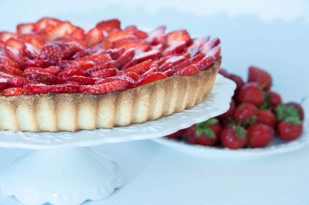 New Ingredients on an Old Classic Strawberry Tart