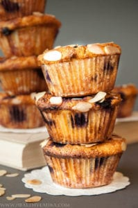 Blueberry Muffins with Almond Meal