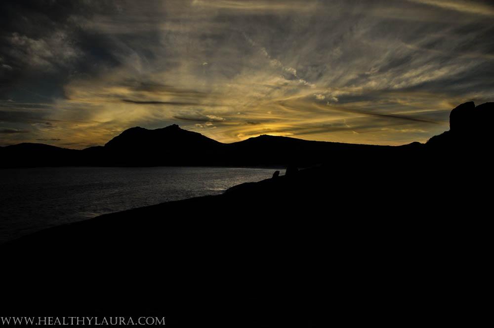 Fitzgerald National Park, WA, sunset