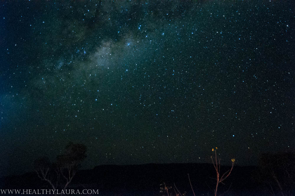 Kimberley, WA, night sky