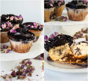 Gluten Free Blueberry Cupcakes