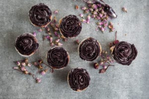 Gluten Free Blueberry Cupcakes