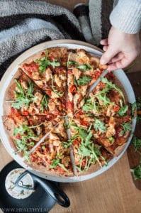 Wholegrain Hot Chiken Pizza