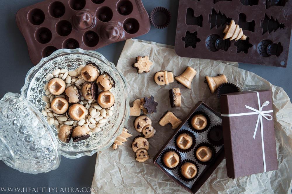Vegan Snickers Truffles