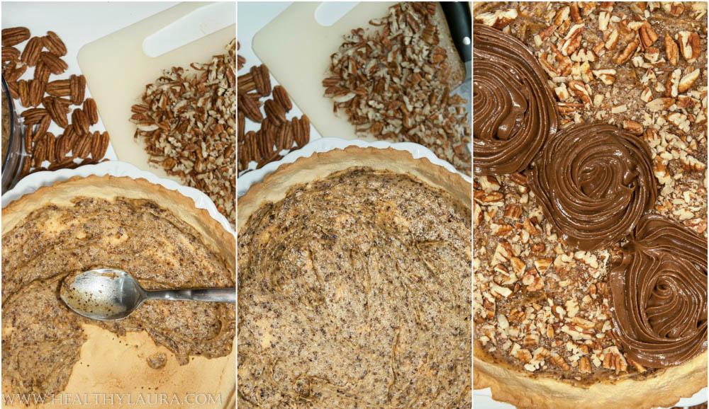 Baking Paleo Chocolate Pecan Tart