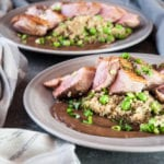 Duck Breast with Quinoa