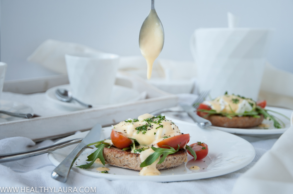 Eggs Benedict with Dairy-Free Homemade Hollandaise