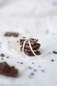 Raw Chocolate with Hemp Seeds