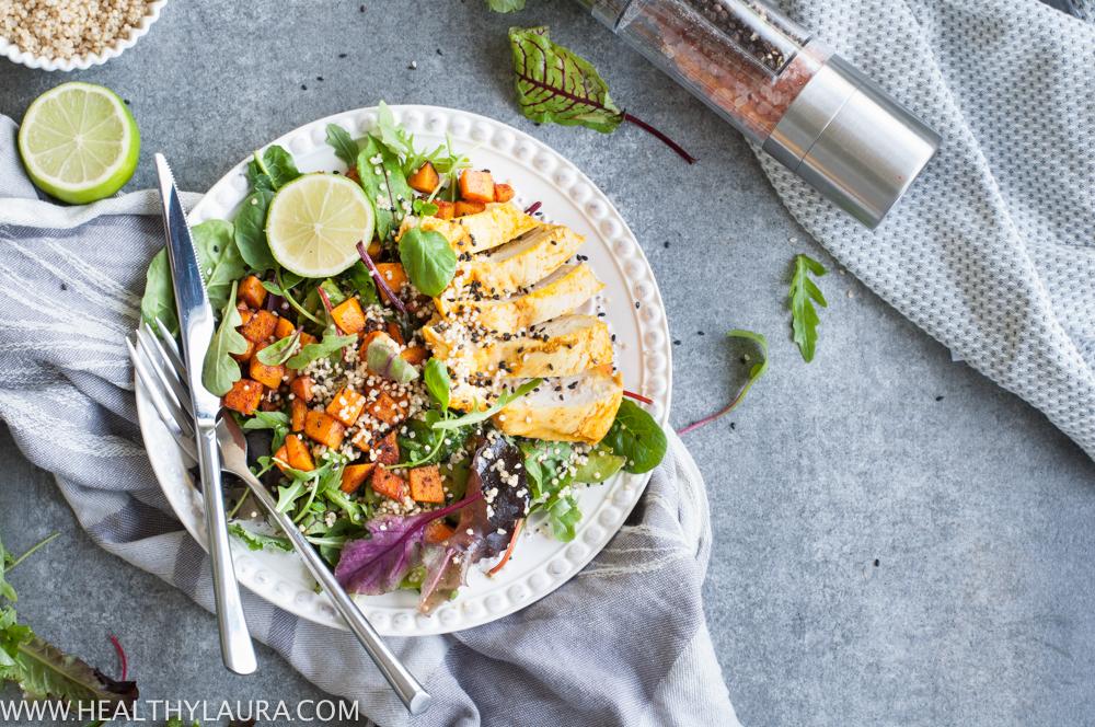 Go- To Chicken Butternut Pumpkin Salad