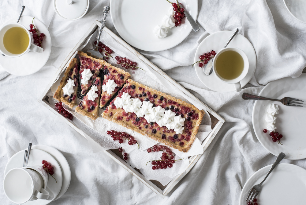 Almond Currant Tart