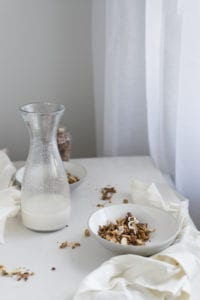 Grain  free granola photography