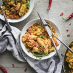 Turmeric Chicken with Cauliflower Couscous