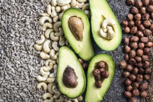 Healthy Fats And Pegan Diet (Mix of vegan and paleo diet)