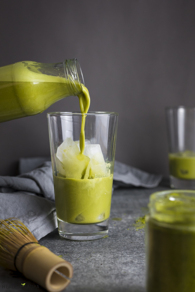 Matcha Latte & Food Photography
