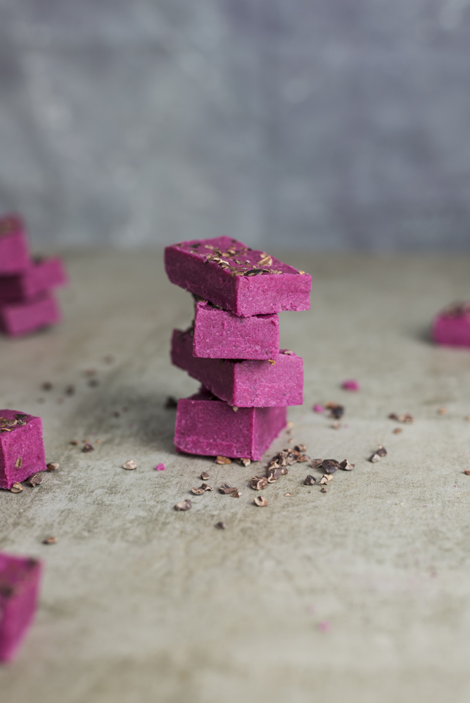 Secretly Veggie Pink Paleo Protein Bars