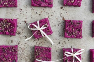 Secretly Veggie Pink Paleo Protein Bars