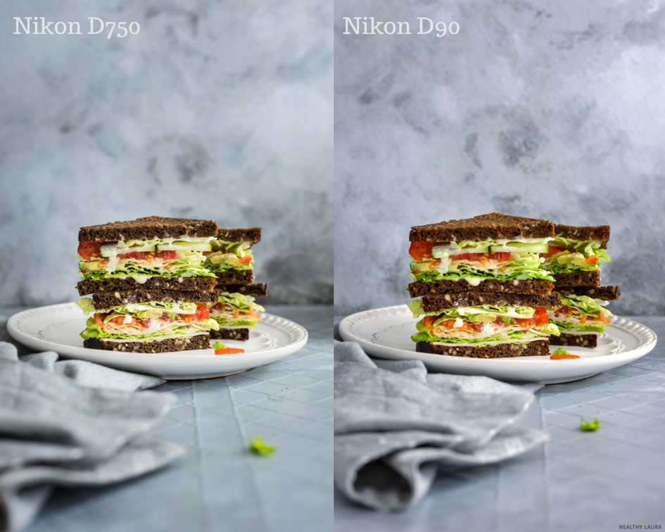 Nikon D750 vs Nikon D90 - Food Photography: What is the best camera for food photography? Light?