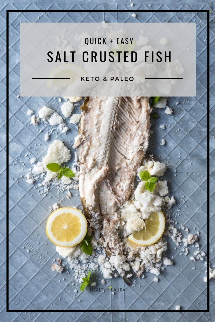 Keto Salt Crusted Fish Easy Amp Juicy Video Healthy Laura
