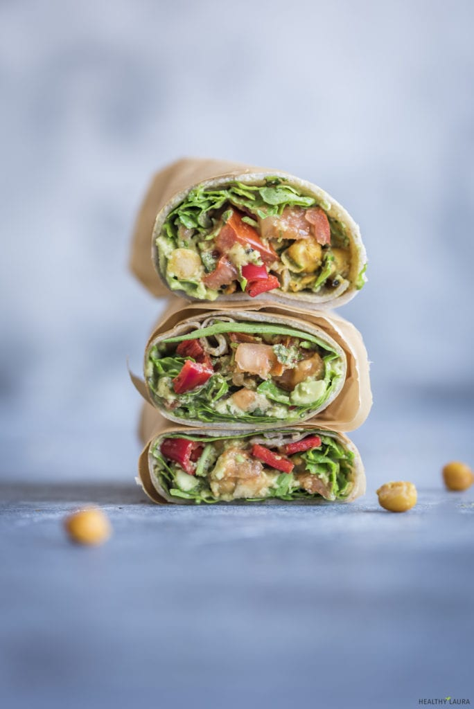 Quick Buckwheat Wrap_ Healthy Laura_ Food Photography