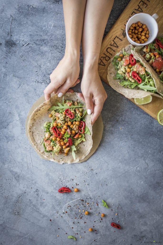 Homemade Quick Buckwheat Wrap - Healthy Laura - Food Photography