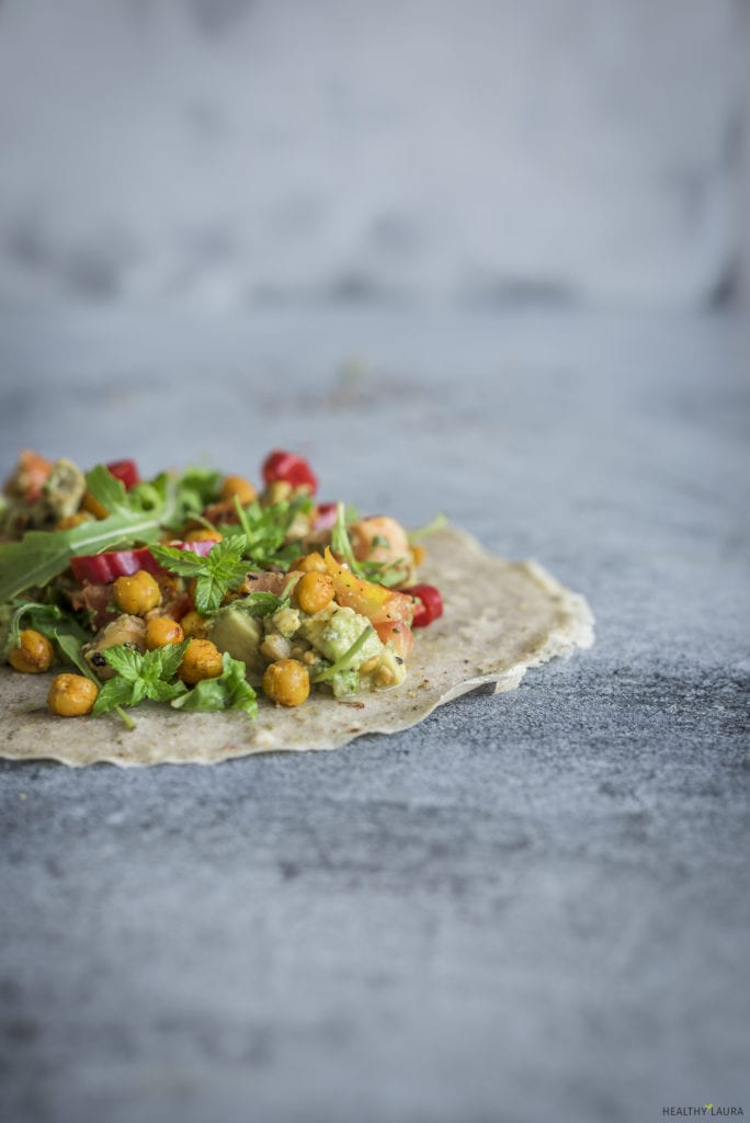 Savory Buckwheat Crepes - Healthy Laura - Food Photography