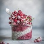 Chia Pudding with Frozen Berries_ Healthy Laura_ Food Photography & Styling