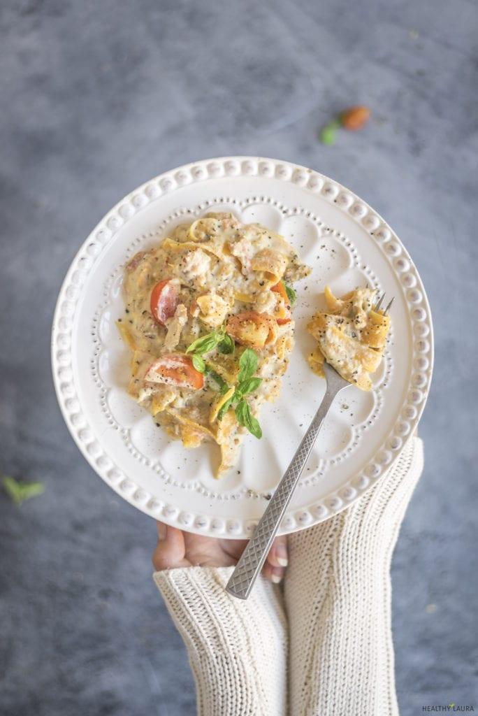 Creamy Butternut Pumpkin Pasta_ Healthy Laura_ Food Photography & Styling