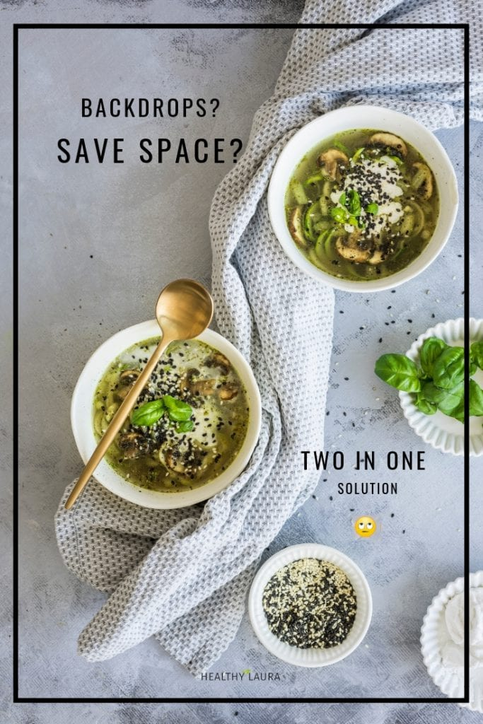 Food Blog Backgrounds Save Space by Healthy Laura @healthylauracom. HealthyLaura food blog tips.