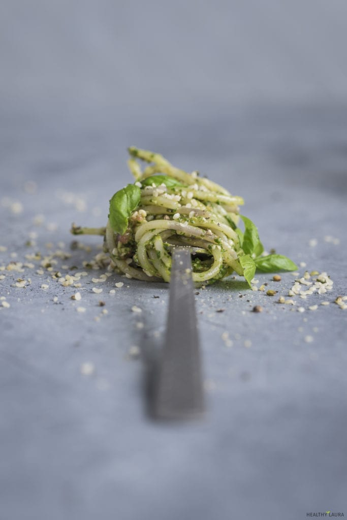 Quinoa Spaghetti_ Pesto_ Healthy Laura_ Food Photography & Styling