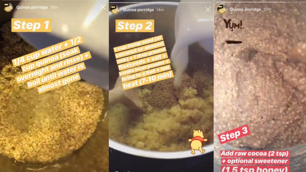 Instagram stories @healthylauracom
