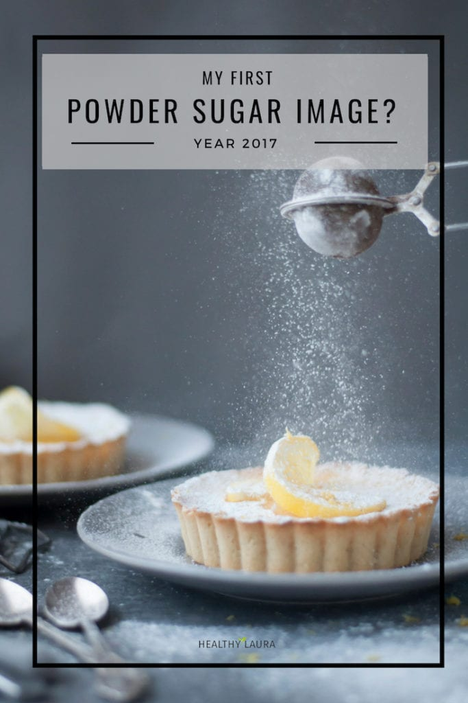 My first powder sugar image_ Healthy Laura _ Food Photography_ Food Photography & styling composition and my photography inspiration & ideas to blogging inspiration and resources on instagram photography. #foodphotography #foodstyling #foodcomposition #foodblogging #foodblogtips