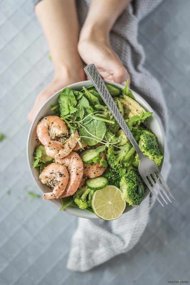 Garlic Prawns_ Healthy Laura_ Food Photography & Styling
