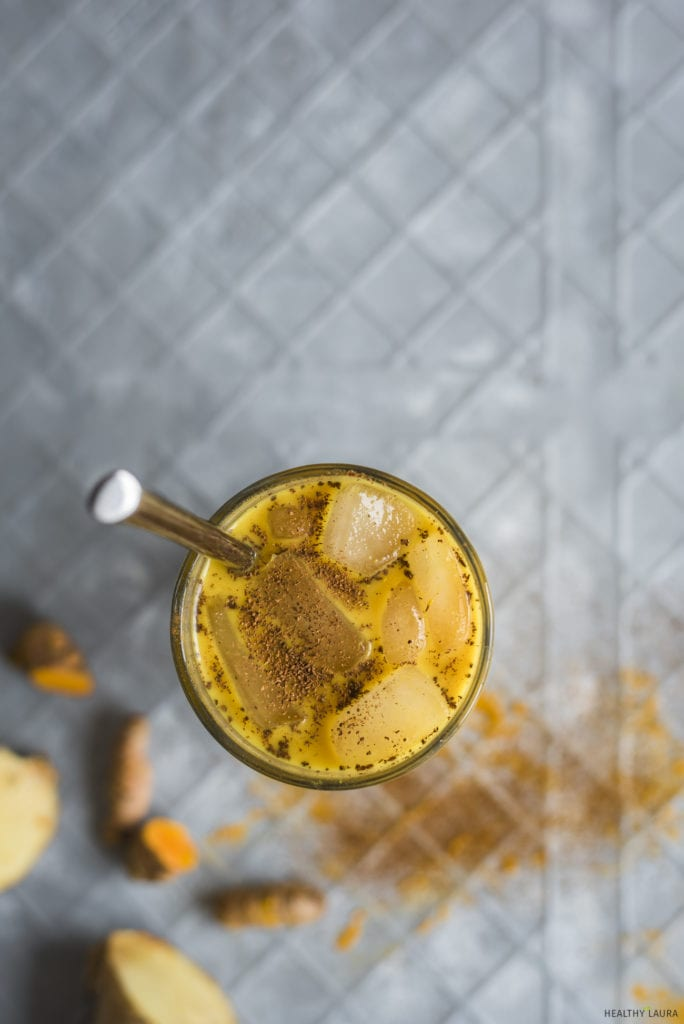 Iced Turmeric Latte_ Healthy Laura_ Food Photography & Styling