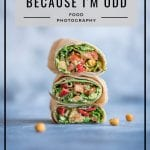 Rule of odds by HealthyLaura food photography @healthylauracom. My food composition tips for food bloggers.