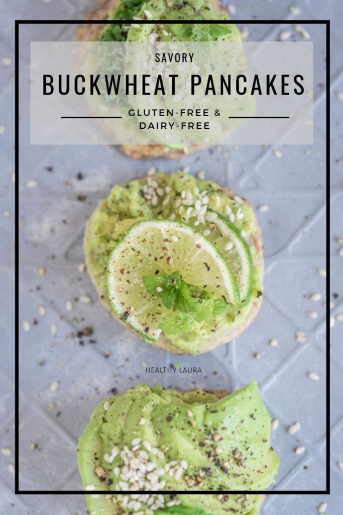 Savory Buckwheat Pancakes_ Healthy Laura_ Food Photography & Styling