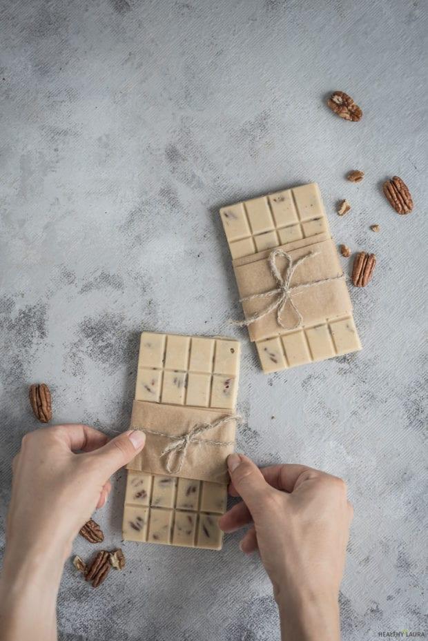 Tahini Pecans Chocolate Fudge_ Healthy Laura_ Food Photography & Styling