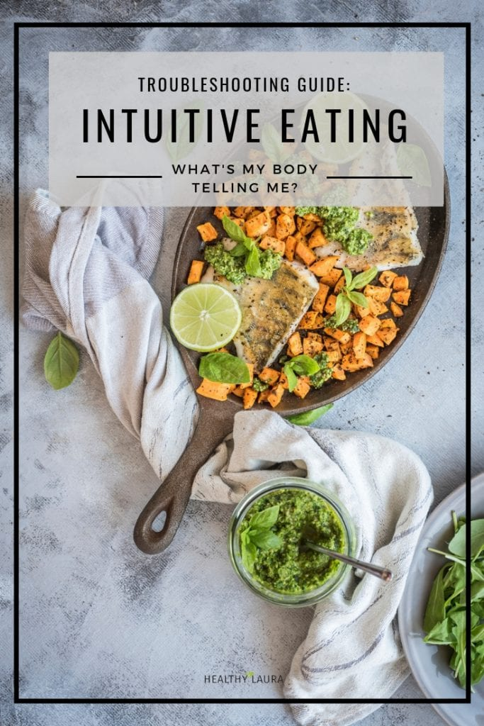 Intuitive Eating Toubleshooting guide. Intuitive eating blog by Healthy Laura. HealthyLaura @healthylauracom intuitive eating tips, quotes, the keys, anti diet projects, weightloss, guidelines, intuitive eatingprinciples, intuitive eating rules, intuitive eating recipes, intuitive eating get started, intuitive eating ideas, intuitive eating meals, healthy intuitive eating, intuitive eating peace, what is intuitive eating, intuitive eating questions, intuitive eating people.
