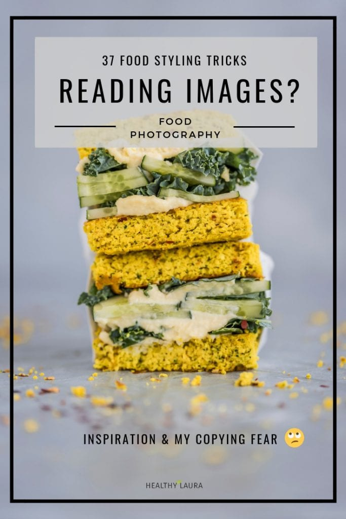 Reading images & food photography tips by Healthy Laura @healthylauracom food photography & food styling. HealthyLaura ood blogging inspiration, ideas to food blogging inspiration and creative food styling resources, food styling props. Healthy Laura food photography food styling cheats, food styling tricks & food styling hacks for food bloggers to create Instagram food photography. #foodstylingtips #foodphotographytips #foodblogtips #foodblogginghacks #foodblogtips
