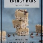 Coconut Energy Bars (Paleo, Nut-Free) by Healthy Laura Food Photography & Styling @healthylauracom HealthyLaura (www.healthylaura.com )