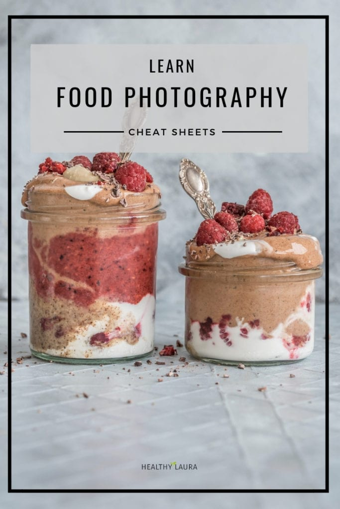 Learn food photography & food styling cheat sheets Healthy Laura Food Photography & Styling @healthylauracom HealthyLaura (www.healthylaura.com )-5