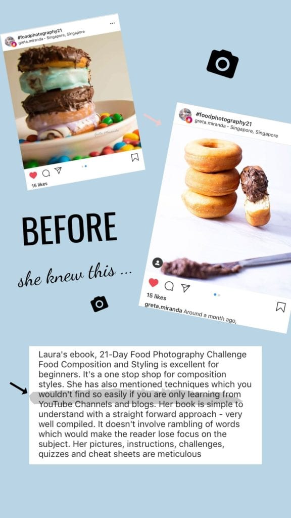 Reviews for Learn food photography 21-day challenge by Healthy Laura Food Photography & Styling @healthylauracom .jpg1